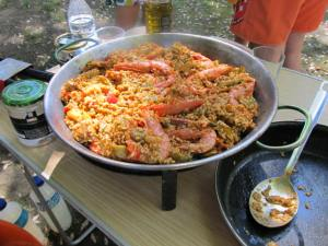 This paella won best flavor.